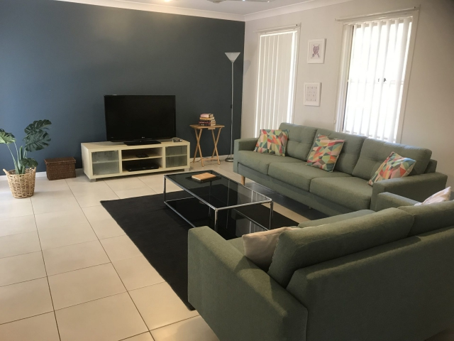 Warm and welcoming 4 bed, fenced, pet friendly holiday home, sleeps 6 in  Lennox Head NSW